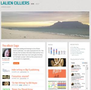 Writer's website
